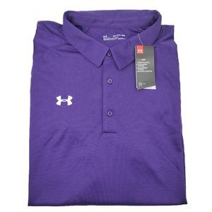 Under Armour Heatgear Loose Golf Polo Shirt Mens